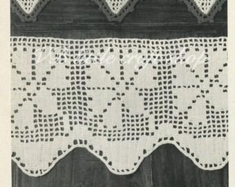 Lace borders crochet pattern. 3 different designs. Instant PDF download!