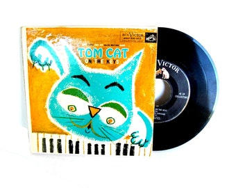 Sparkys Piano, Tom Cat on the Keys, Great Musical Fairy Tales 45 RPM VINTAGE Records