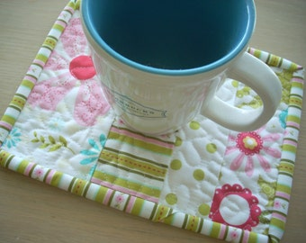 Sweet Divinity mug rug - FREE SHIPPING