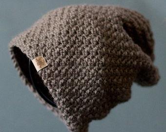 Crochet Slouchy Hat PATTERN Voyager Slouchy Crochet Hat Pattern Includes 6 sizes