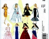 BARBIE DOLL CLOTHES Pattern by McCall's #6232 Uncut