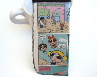 Eyeglass Case / Sunglass Case / Recycled Comic Eyeglass Holder