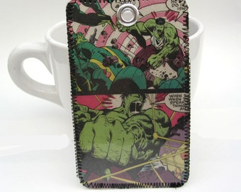 Recycled Comic Flashers
