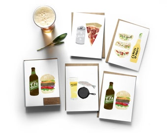Boxed Set of 8 Beer Pairing Cards