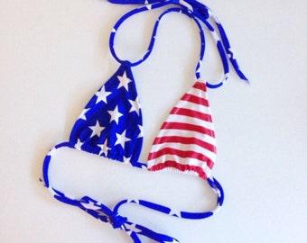 USA bikini top