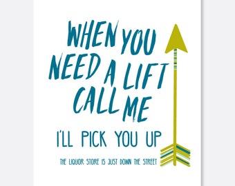 Pick Me Up Cancer Card