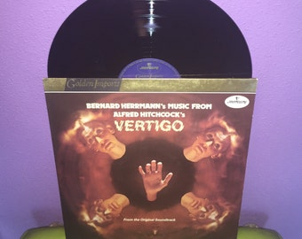 Vinyl Record Album Bernard Herrmann's Music from Alfred Hitchcock's Vertigo LP Holland Import