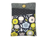 Kindle Paperwhite Case, iPad Mini Cover, Nook Glowlight, Kindle Cover, Kindle Voyage,  Nook Touch, iPad Mini Case, Floral Kindle Case