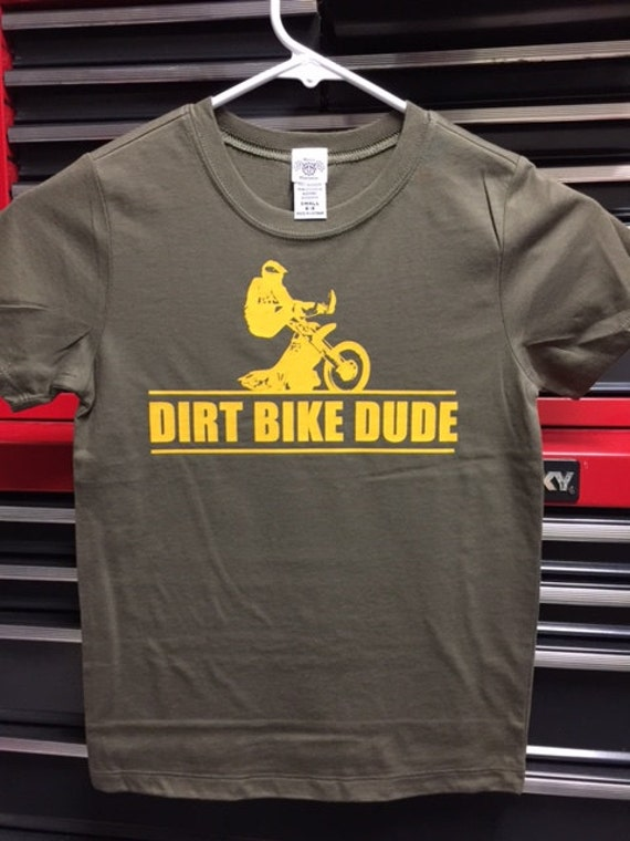 Dirt Bike Dude Baby / Kids T-Shirt
