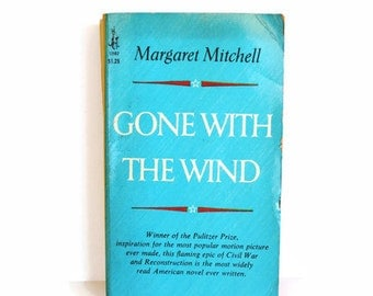 Gone with the Wind Vintage Paperback by Margaret Mitchell, 1967