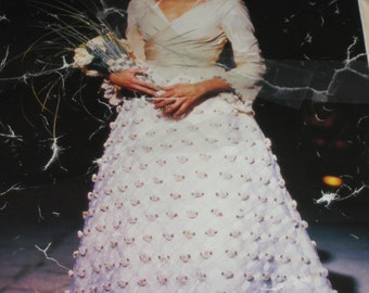Couture Wedding Skirt/Bridal Seperates/Elegant Wedding Wear  FREE SHIPPING