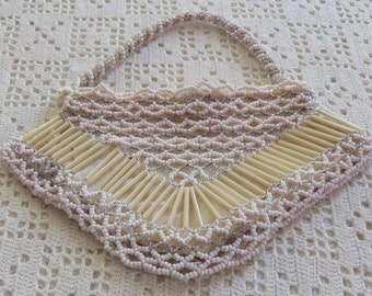 Vintage Purse Beaded Evening Bag