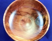 Hand Turned Wooden Bowl - Eastern Red Cedar -  Reserved for Sengdhuan Defibaugh-Chavez
