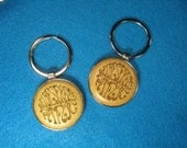 Widespread Panic Keychain - Great inexpensive Christmas gift for the WSP Fan! WSP Key Chain, Stocking Stuffer