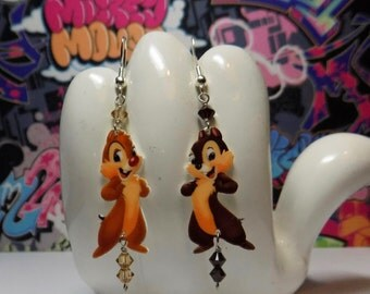 Chip and Dale Dangle Earrings
