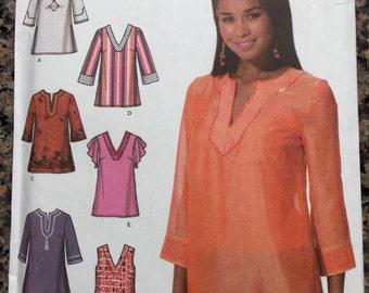 Simplicity Sewing Pattern 4659 Tunics Caftans Uncut 6 8 10 12