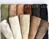 Italian Viscose original colors mini bear fabric teddybear making supply