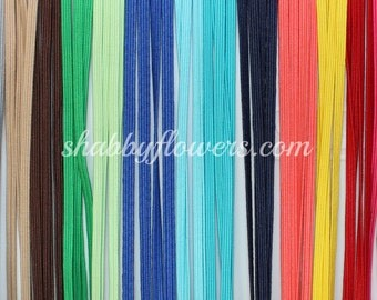 Variety Pack of 90 yards-Elastic - Skinny Elastic Multipack of 18Colors (5 yards per color) Baby Skinny Headbands