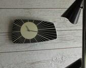 MCM Wall Clock - vintage clock - wall clock