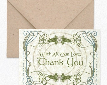 Tolkien - Thank You Cards