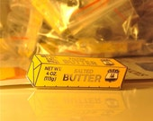 Stick Of BUTTER Pin Soft enamel - Bakers, Dairy farmers, people who love Butter this is for you! BUTTER is the NEW Bacon!