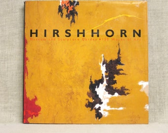 Vintage Art Book, Hirshhorn, Washington DC, Museum Collection, Contemporary Art, Modern Art, Art, Books, Coffee Table Books, Reference