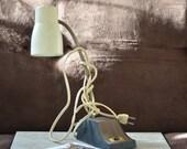 Gooseneck Lamp-Mid Century Desk Lamp-Hi Low Task Desk Lamp--Desk Light 60's