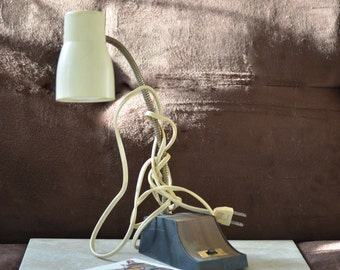 Gooseneck Lamp-Mid Century Desk Lamp-Hi Low Task Desk Lamp--Desk Light 60's