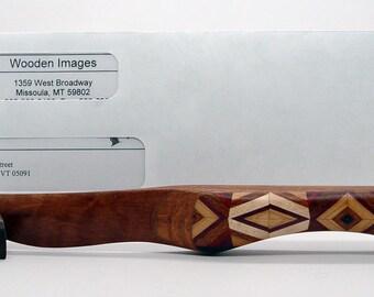 Wooden Letter Opener, Bubinga