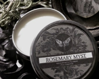Rosemary Myst  Natural Solid Perfume Gypsy Apothecary Rosemary, Amber Orange,Spearmint, Almond