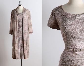 Vintage 50s dress | vintage 1950s dress | 50s dress & jacket | 5701