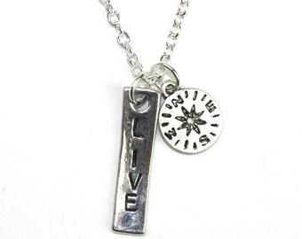 Live Compass Necklace