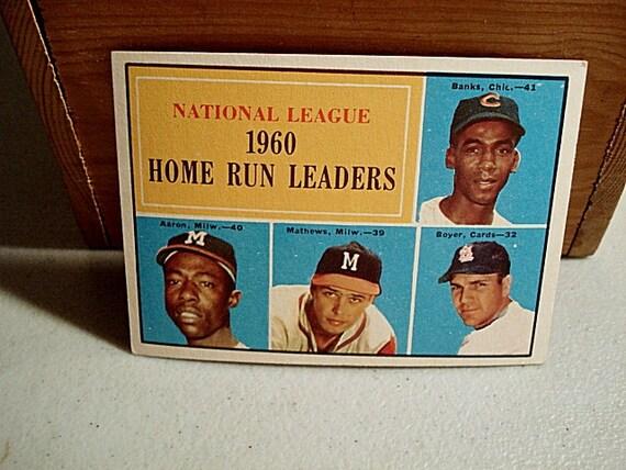 national league 1960s home run leaders