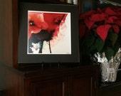 Red Poppies Print, Red Flower Art Print, Red Art Flower Art Print