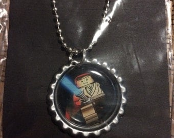 Upcycled Bottle Cap Necklace