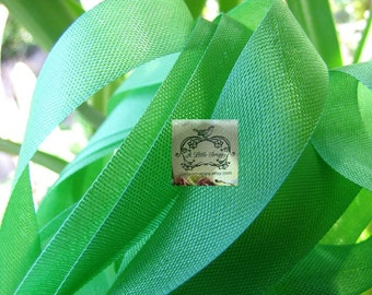Rayon Seam Binding Ribbon Pandan Green