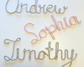 Scriped Words- handmade- wall decor- choose the word and color- made to order