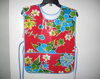 Childs smock or apron