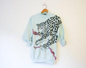 Vintage Leopard Sweatshirt