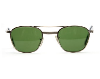 Vintage Deadstock American Optical Aviation Sunglasses - Racing Green