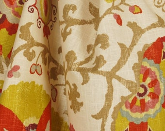 Silsila Curry Braemore Suzani Fabric