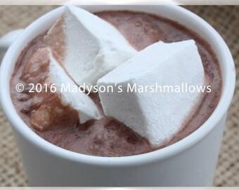 Vanilla Bean Gourmet Marshmallows {bulk order of 80 pieces}