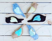 Felt Bird Wall Garland, Spring, FREE shipping, Wall Decor Hanging, Home  SALE, home, decorate, lovebirds