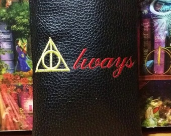 Deathly Hallows symbol pipe pouch