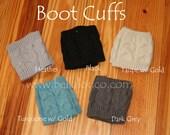 Women's Personalized Boot Cuffs