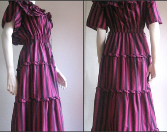 40% off 70s vintage long gipsy dress