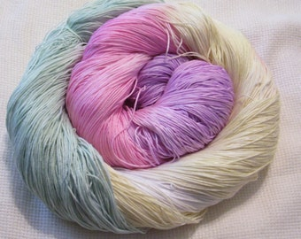 hand dyed thread 150 yards cotton crochet thread size 10  crocheting, knitting, tatting supplies,embroidery