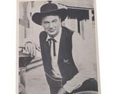 Gary Cooper High Noon Studio Copy Photo Hollywood Film Actor Publicity Promo