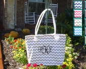 Bride's Tote Bag in 9 Colors, Bridesmaid Gift, Maid of Honor, Matron of Honor