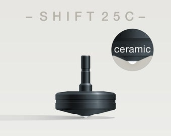 SHIFT 25C Spin Top with ceramic tip